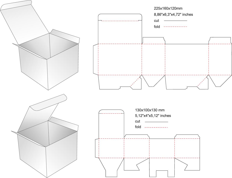 箱のCAD図面作成サービス